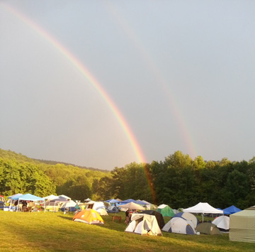 There's beer at the end of the (double) rainbow! At Ommegang in August, for BCTC.
