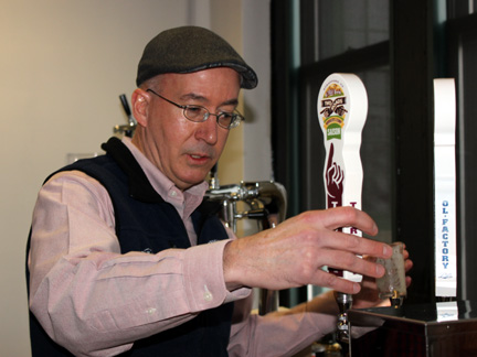 Brewmaster Phil Markowski will be behind the sticks at NYC Brewers Choice on 2/26.